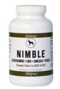 Adeptus Nutrition 20204 Nimble For Pets 370ml 120 Tablets