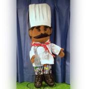 Sunny Toys GL1305B 36cm . Ethnic Chef Glove Puppet