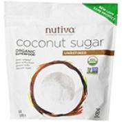 Frontier Natural Products 228653 Nutiva Organic Coconut Sugar Unrefined