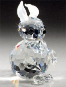 Asfour Crystal 647-27 1.45 L x 2.36 H in. Crystal Rabbit Animals Figurines