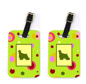 Carolines Treasures CK1022BT Cocker Spaniel Luggage Tags Pair Of 2