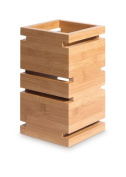 Rosseto Serving Solutions SW100 Multi-Level 30cm . Riser Square Natural Bamboo