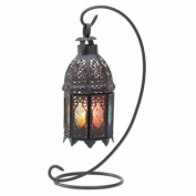 Eastwind Gifts d1062 Rainbow Moroccan Lantern Stand