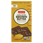 Alter Eco Chocolate Organic Dark Salted Brown Butter 80ml - Case of 12