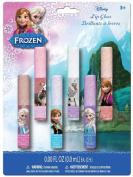 Granny's (c) Disney Frozen Anna, Elsa & Olaf Kristoff Lip Gloss Glitter Sticks (Brillant a levres) 6pcs Set Fruity Flavours Princess