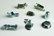Replacement Monopoly Metal Pawn Tokens 8 Piece Set
