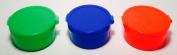 Single Small 2.5cm Pog Tube - Assorted Colours - Includes 16 Pogs