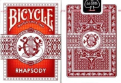 Bicycle Red Rhapsody Playing Cards 2 Decks