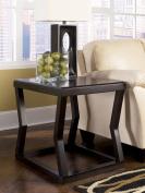 Ashley Furniture Signature Design Kelton Rectangular End Table, Espresso