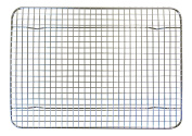 Stainless Steel Cooling Rack - 22cm X 30cm - Heavy Duty, Commerical, Metal Wire Grid Rack - Quarter Sheet Size