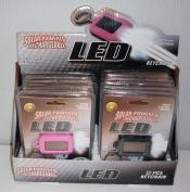 NuImage KC-005 Solar Rechargeable LED Light - 12 pcs