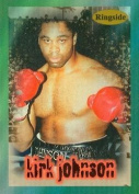 Autograph Warehouse 84439 Kirk Johnson Card Boxing 1996 Ringside No .14
