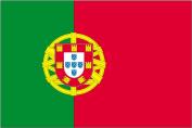 Annin Flagmakers 196846 0.6m X 0.9m Nyl-Glo Portugal Flag