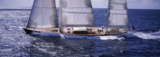 Panoramic Images PPI111619L Sailboat in the sea Antigua Poster Print by Panoramic Images - 36 x 12