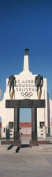Panoramic Images PPI125051L Entrance of a stadium Los Angeles Memorial Coliseum Los Angeles California USA Poster Print by Panoramic Images - 12 x 36