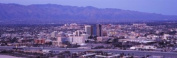 Panoramic Images PPI127383L Aerial view of a city Tucson Pima County Arizona USA 2010 Poster Print by Panoramic Images - 36 x 12