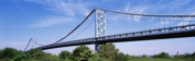 Panoramic Images PPI55895L USA Philadelphia Pennsylvania Benjamin Franklin Bridge over the Delaware River Poster Print by Panoramic Images - 36 x 12