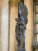 Panoramic Images PPI96009L Close-up of a war memorial statue at a railroad station 30th Street Station Philadelphia Pennsylvania USA Poster Print by Panoramic Images - 12 x 36