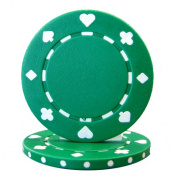 Brybelly Holdings CPSP-GREEN-25 Roll of 25 - Suited 11.5 gramme - Green