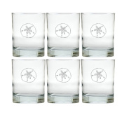 Carved Solutions Old Fashion Glass Set Of 6-Sdollar
