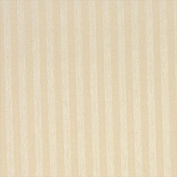 Designer Fabrics A115 140cm . Wide Ivory And Tan Thin Two Toned Striped Upholstery Fabric