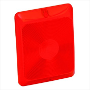 BARGMAN 3484010 Red Stop-Turn-Taillight Replacement Lens
