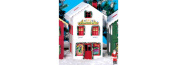 Piko 62712 North Pole Toy Workshop #1 Built-Up