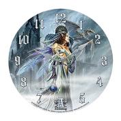 Bride Of The Moon Decor Wall Clock Round Plate Diameter 34cm