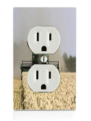 Combine at work Electrical Outlet Plate