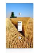 Farming Light Switch Plate