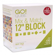 AccuQuilt GO! Qube Mix & Match 30cm Block