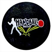 Mikasa Rubber School Playground Handball - 8.5 Dia. in. - Black