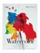 Strathmore 200 Tape Binding Light-Weight Student Grade Watercolour Pad - 23cm x 30cm . - 15 Sheets