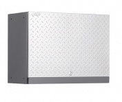 NewAge Products 51000 Performance Diamond Plate Series Wall Cabinet - Silver