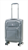 Delsey 15240SL Helium Breeze 4.0 Lightweight 48cm . Cabin Trolley Spinner Luggage Silver