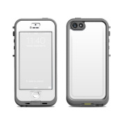 DecalGirl LN5S-SS-WHT LifeProof iPhone 5S Nuud Case Skin - Solid State White