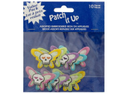 Bulk Buys GW234-48 Skull Butterfly Embroidered Iron-On Appliques