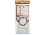 Bulk Buys CG746-24 Timeless Self-Adhesive Cardstock Journaling Pieces