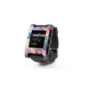 DecalGirl PWCH-COSFLWR Pebble Watch Skin - Cosmic Flower