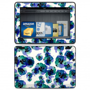 DecalGirl AKX7-BLUEYE Amazon Kindle HDX Skin - Blue Eye Flowers