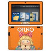 DecalGirl AKX7-OHNO Amazon Kindle HDX Skin - Oh No