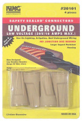 King Safety Products 20101 4 Count Tan Underground Wire Connectors