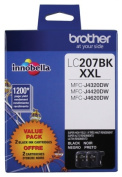for Brother International LC2072PKS Super High Yield Xxl Black Ink