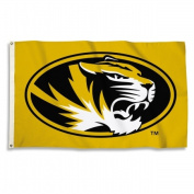 BSI Products 95343 Missouri Tigers Flag With Grommets