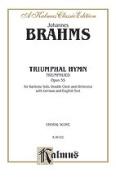 Alfred 00-K06102 BRAHMS TRIUMPHAL HYMN OP.55 V