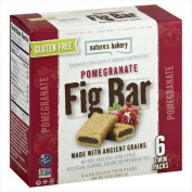 Natures Bakery 350ml Gluten Free Fig Bar Pomegranate - 6 Ct. Case Of 12