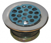 Larsen Supply 03-1027 3.8cm . Chrome Sink Strainer