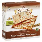 Yehuda Matzo Sq Gluten Free Tst Onion 310ml Pack Of 12