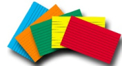 TOP NOTCH TEACHER PRODUCTS TOP363 INDEX CARDS 4 X 6 LINED BRITE ASSORT 100 CT