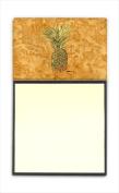 Carolines Treasures 8654SN Pineapple Refiillable Sticky Note Holder or Postit Note Dispenser 7.6cm x 7.6cm .